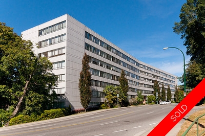 South Granville/Fairview Condo for sale: Hycroft Towers 1 bedroom 587 sq.ft. (Listed 2012-09-25)