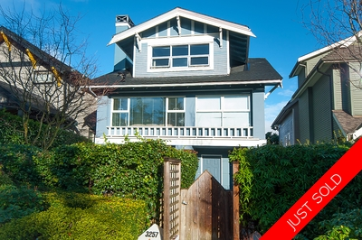 Kitsilano Half Duplex for sale: 2 bedroom + den 1,670 sq.ft. (Listed 2018-01-29)